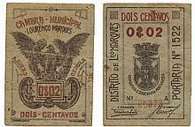 Paper money - Mozambique 2 Centavos nd