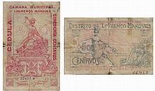Paper money - Mozambique 50 Centavos nd