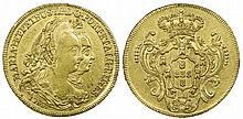 Brazil - D. Maria I & D. Pedro III - 6400 Reis 1783 R