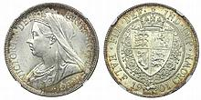 Great Britain - 1/2 Crown 1901 NGC MS-64