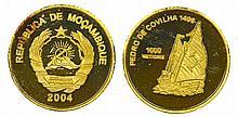 Mozambique - 1000 Meticais 2004