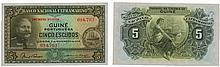 Paper money - Portuguese Guinea 5$00 1944