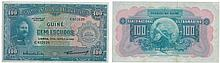 Nota - Portuguese Guinea 100$00 1964