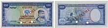 Paper money - Portuguese Guinea 100$00 1971, SPECIMEN