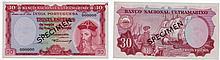 Paper Money - Portuguese India 30$00 1959 SPECIMEN