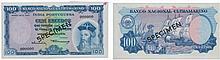 Paper Money - Portuguese India 100$00 1959 SPECIMEN