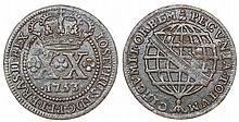 Brazil - D. Jose I - XX Reis 1753