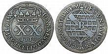 Brazil - D. Joao V - XX Reis 1730 B