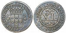 Brazil - D. Joao V - XL Reis 1722