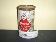 Royal crown Cola early 1960's metal can