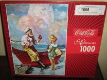 Coca-cola Masterworks 1000 Pc Puzzle Boat