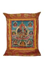 A Tibetan thangka of Tara, 19th - 20th century