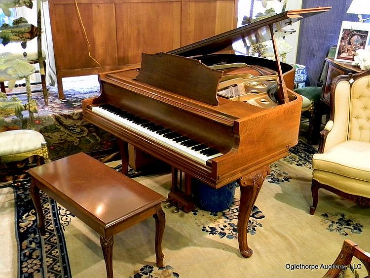 KNABE PLAYER BABY GRAND PIANO