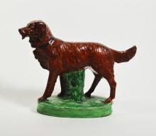 Vintage Porcelain Golden Retriever