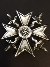 German NAZI Swastika Weapons Expert Uniform Pin