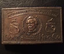 Vintage SAMUEL COLT Belt Buckle by TIFFANY & CO