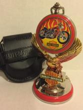 Official HARLEY DAVIDSON Pocket Watch with Stand