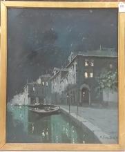 Original Oil on Canvas by M. Foscarini