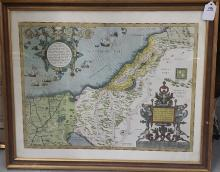 Old Mediterranean Map