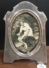 19th Century Sterling Picture Frame