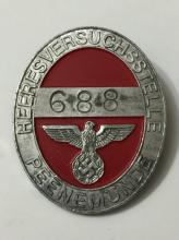 NAZI Germany Military Officer's Personal Badge