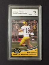 ANDREW LUCK Rookie Card Graded Gem Mint 10