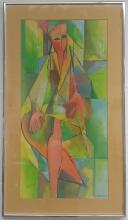 Oil on Canvas Signed Tomoko Nov. '75