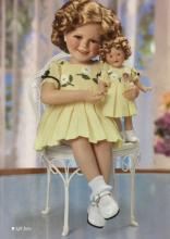 Rare DANBURY MINT Porcelain Shirley Temple & Doll