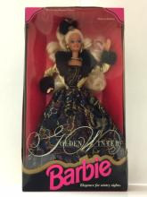 Vintage GOLDEN WINTER Limited Edition BARBIE Doll