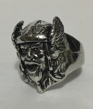 Vintage Nazi Germany Swastika Men's Figural Ring