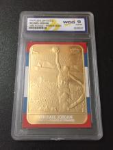 *1986 Rookie* RWB Michael Jordan 23kt Gold Card