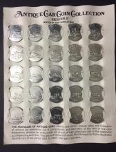 Lot of 25 Silver clad 1901-1925 Antique Car Coins