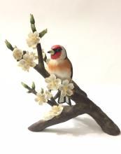 1979 FRANKLIN Porcelain RSPB European Goldfinch