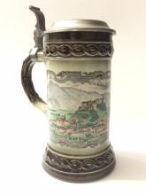 Vintage Rare STAFFEL Stoneware German Beer Stein