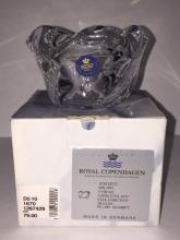 ROYAL COPENHAGEN Crystal Votive by ALLAN SCHARFF