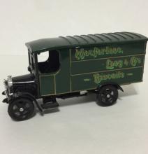 Rare 1960's CORGI Die Cast Delivery Toy Truck