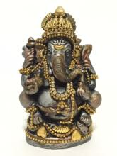 Vintage Hand Decorated Religious Figure of GANESH