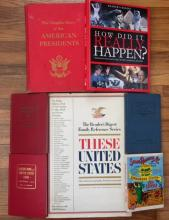 Lot of Vintage & Antique Historical Books & More