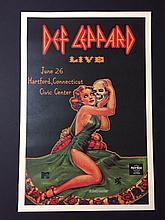DEF LEPPARD Live Music Concert Poster 12