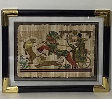 Genuine Egyptian Handmade Papyrus with COA