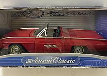 Rare ANSON Classic 1963 FORD THUNDERBIRD Car
