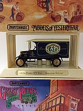 1926 FORD TT Van Die-Cast MATCHBOX Car w/Box