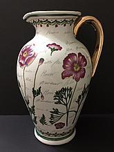Beautiful Large Tuscany Italy Porcelain Vase