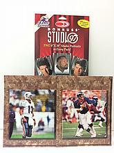 2 - DONRUSS Studio NFL Player Signature Portraits