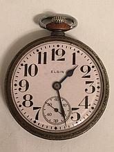Antique ELGIN Open Face Pocket Watch
