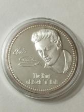 .999 Silver clad ELVIS PRESLEY Encapsulated Coin