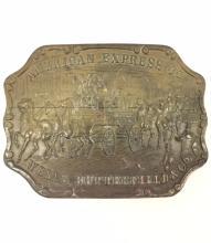 TIFFANY & Co/American Express Stagecoach Belt Buck