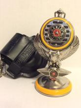 NOS Official HARLEY DAVIDSON Pocket Watch w/Stand