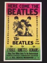 The BEATLES in Concert Poster - August 29th 1966