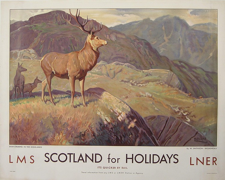 W Smithson Broadhead (1888-1960) Scotland for
